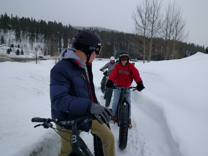Breckenridge fat bike beer tours are family friendly